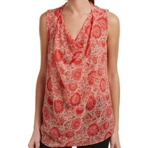 Cabi Vita Sheer Blouse Sleeveless Small